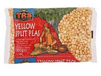 TRS Yellow Split Peas Peas 500gr