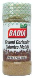 BADIA Ground Coriander 49.6gr