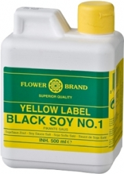 Flower Brand Yellow Label Blacksoy No.1 500ml