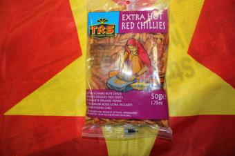 TRS Extra Hot Red Chillies 50 gr