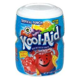 Tropical Punch flavoured Kool-Aid 538g